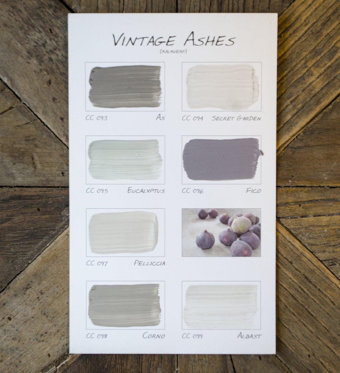 espeterhoeve carte colori kleurenkaart vintage ashes